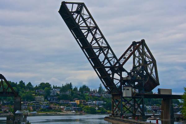 Photograph - Ballard Bridge by Steven Lapkin