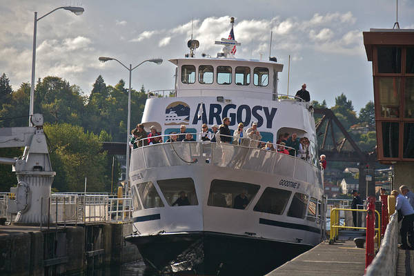 Photograph - Ballard Locks Seattle New Pricing by Steven Lapkin