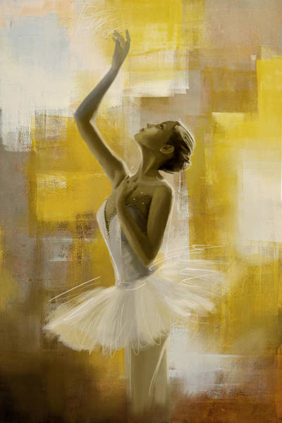 Corporate Art Task Force Wall Art - Painting - Ballerina  by Corporate Art Task Force