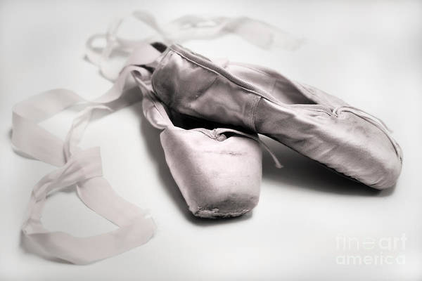 Pointe Shoes Wall Art - Photograph - Ballet Slippers by Diane Diederich