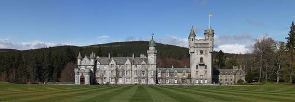 Photograph - Balmoral Castle In Panorama by Maria Gaellman