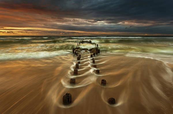 Shores Wall Art - Photograph - Baltic... by Krzysztof Browko