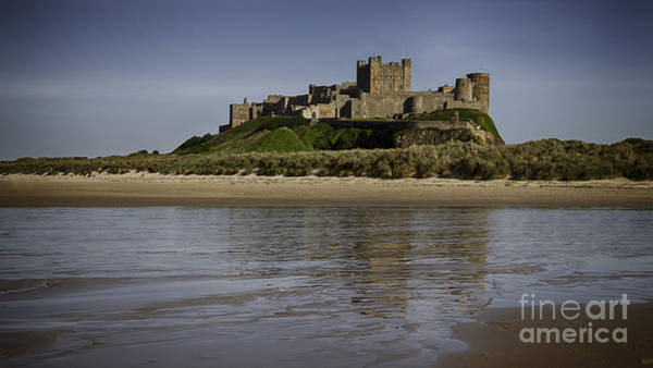 Fortification Photograph - Bamburgh Castle by Nigel Jones