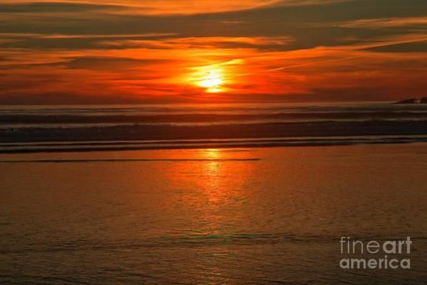 Photograph - Bandon Beach Sunset by Adam Jewell