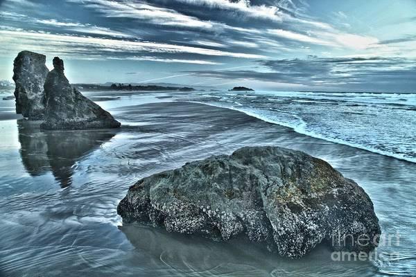Photograph - Bandon Beach Swirls by Adam Jewell