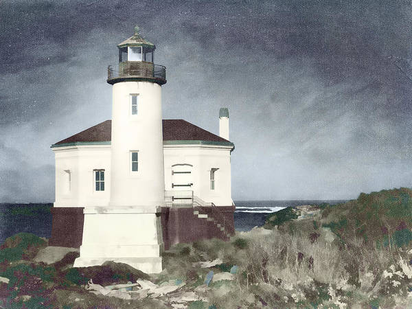 Bandon Lighthouse Art Print