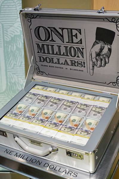 One Dollar Photograph - Bank Of Chicago Money Museum by Jim West