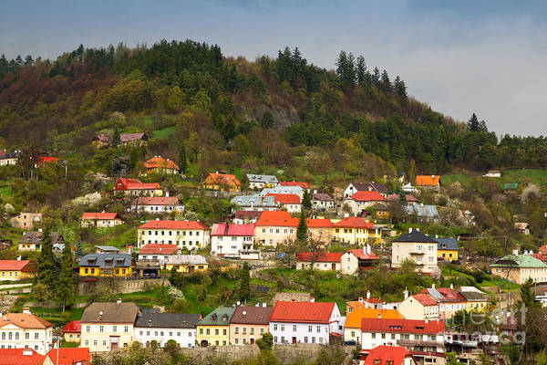 Photograph - Banska Stiavnica In Slovakia by Les Palenik