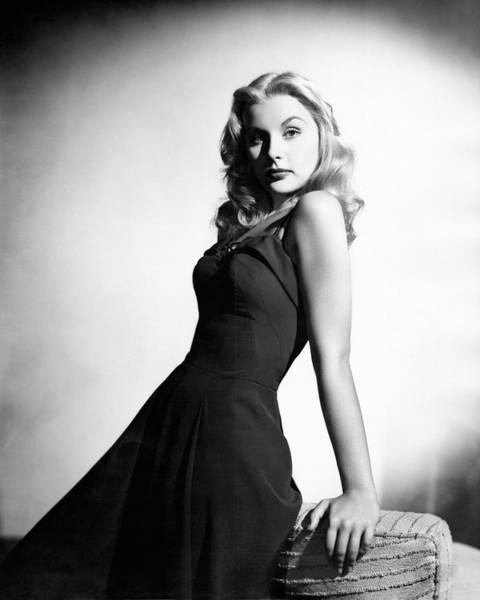 Glamorous Photograph - Barbara Payton by Silver Screen