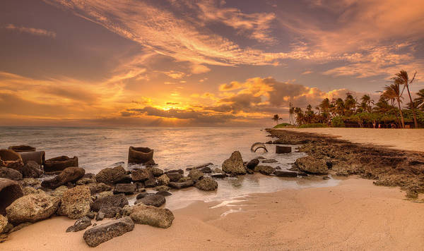 Wall Art - Photograph - Barbers Point Light House Sunset by Tin Lung Chao
