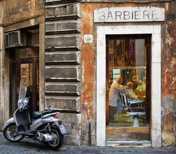 Shop Photograph - Barbiere by Stefan Nielsen