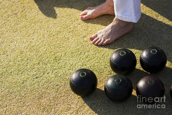 Photograph - Barefoot Bowling by Jorgo Photography - Wall Art Gallery