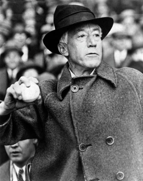 Photograph - Baseball Opening Day by Underwood Archives