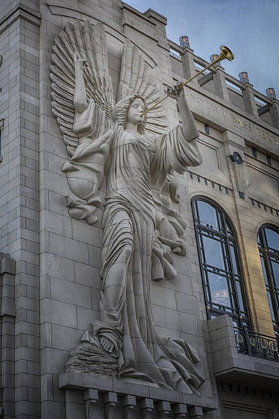 Bass Hall Angel Art Print