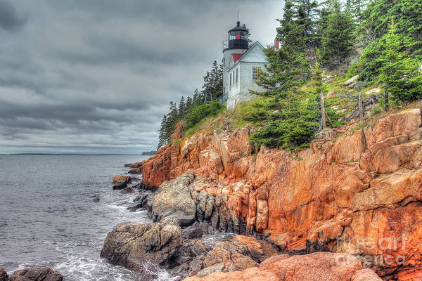 Wall Art - Photograph - Bass Harbor Light House by Rick Mann