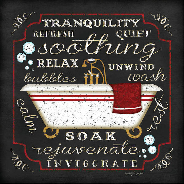 Sink Painting - Bath I by Jennifer Pugh