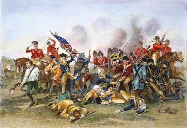 Wall Art - Photograph - Battle Of Camden, 1780 by Granger