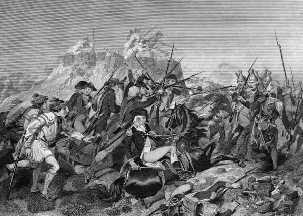 Bemis Photograph - Battle Of Saratoga, 1777 by Granger
