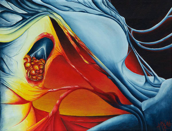 Ambiguous Painting - Battle Of Surrealism by Amy Elizabeth Quirk