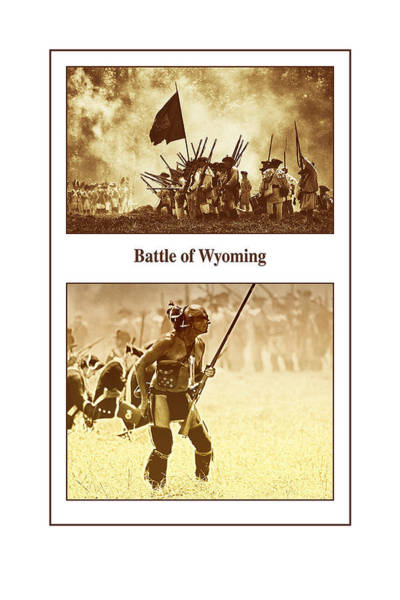 Photograph - Battle Of Wyoming by Jim Cook