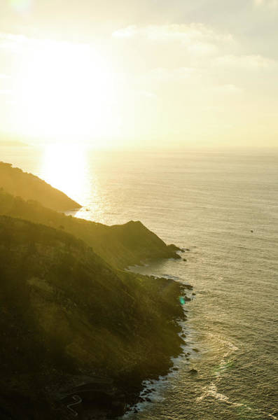 San Sebastian Photograph - Bay Of La Concha by Megan Ahrens