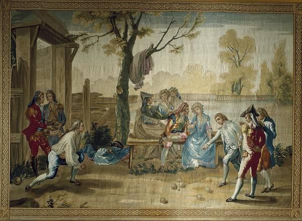 Petanque Wall Art - Photograph - Bayeu Y Subias, Ram�n 1746-1793. The by Everett