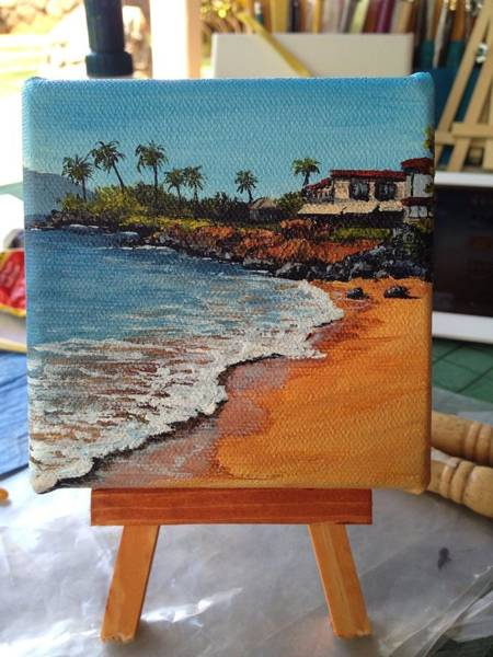 Painting - Beach Day by Darice Machel McGuire