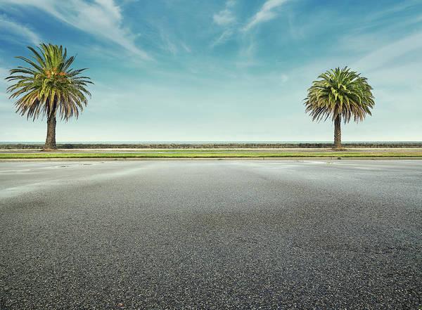Parking Photograph - Beach Parking Lot by Aaron Foster