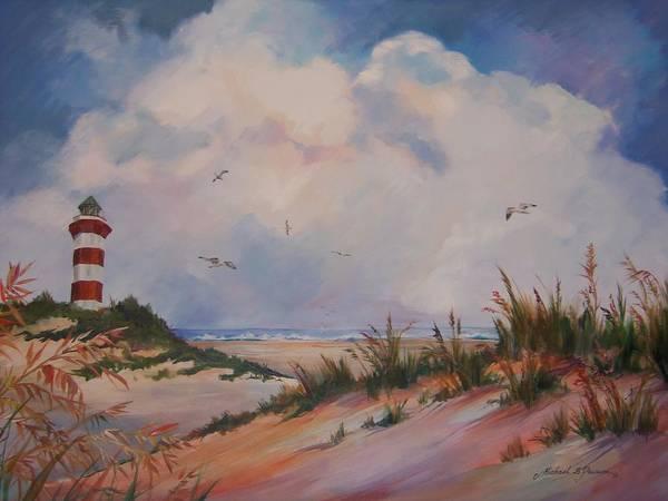 Hilton Head Island Painting - Beach Respite by Michael Pearson
