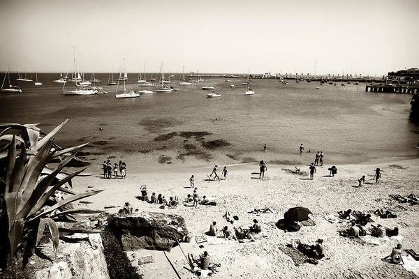 Photograph - Beach View In Cascais by John Rizzuto