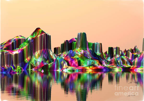 Wall Art - Digital Art - Beautiful Gemstones In Your Dreams. by Heinz G Mielke