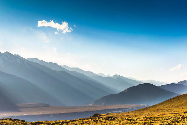 Beautiful Landscape In Norther Part Of India Art Print by Primeimages