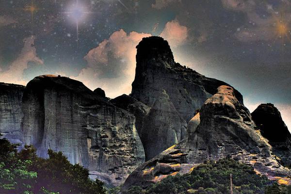 Digital Art -  Mountains by Augusta Stylianou
