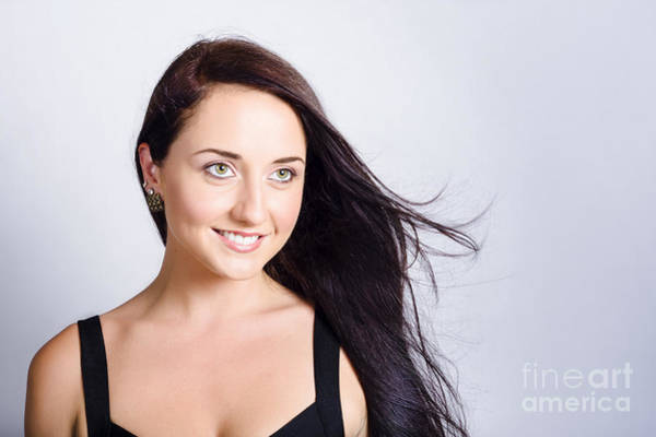 Photograph - Beauty And Cosmetics Girl With Natural Makeup by Jorgo Photography - Wall Art Gallery