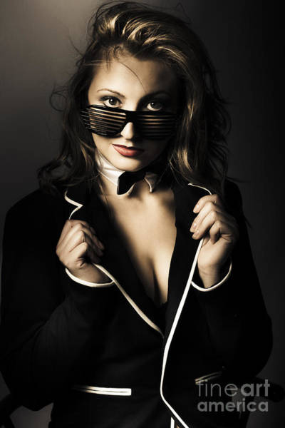 Sultry Photograph - Beauty Woman Posing In Formal Evening Wear by Jorgo Photography - Wall Art Gallery