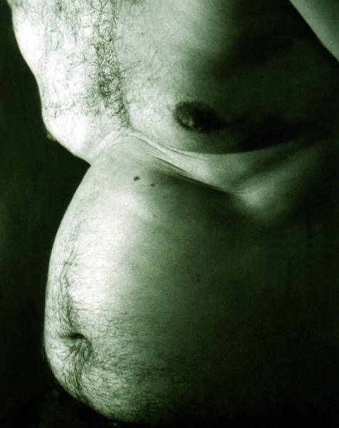 Belly Photograph - Beer Belly by Cordelia Molloy/science Photo Library