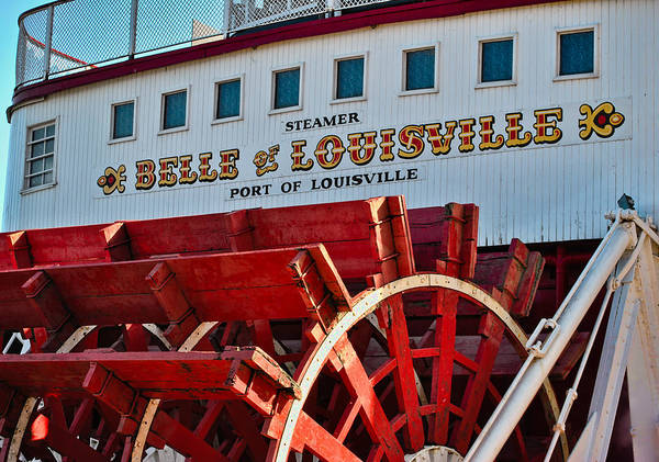 Aft Photograph - Belle Of Louisville by Greg Jackson
