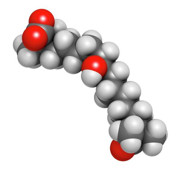 Wall Art - Photograph - Bempedoic Acid Hypercholesterolemia Drug Molecule by Molekuul/science Photo Library
