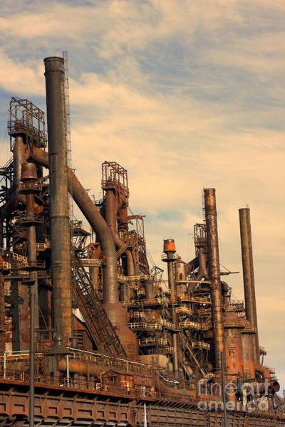 Photograph - Bethlehem Steel # 9 by Marcia Lee Jones