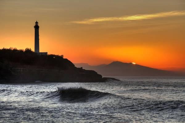 Photograph - Biarritz by Karim SAARI