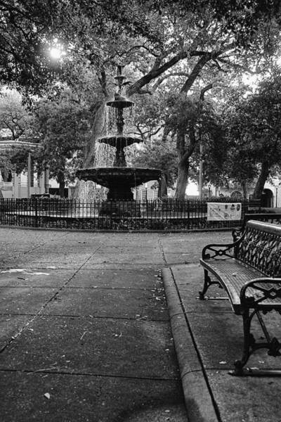 Digital Art - Bienville Square by Michael Thomas