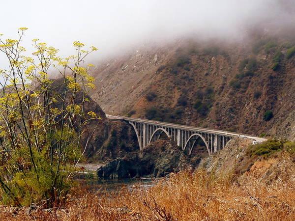 Photograph - Big Creek Bridge by Jeff Lowe