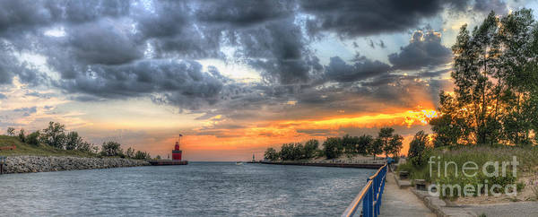 Holland Wall Art - Photograph - Big Red At Sunset by Twenty Two North Photography