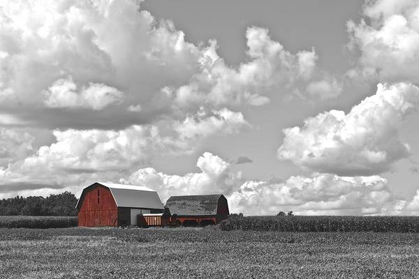 Expanse Photograph - Big Sky by Frozen in Time Fine Art Photography