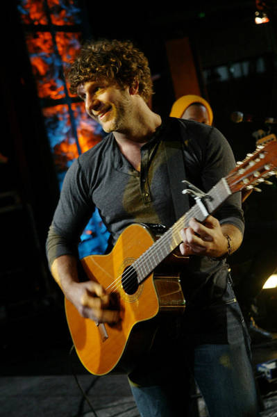 Billy Currington Art Print by Don Olea