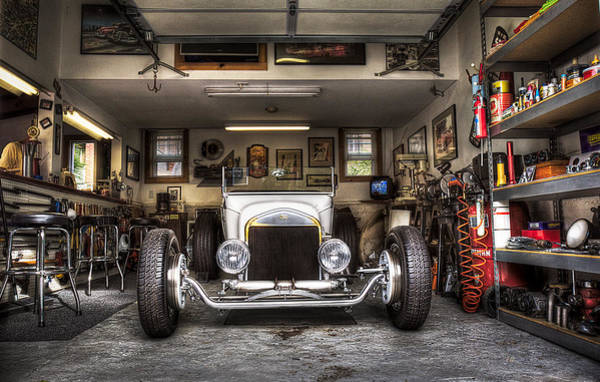Photograph - Birth Of A Roadster by Robert FERD Frank