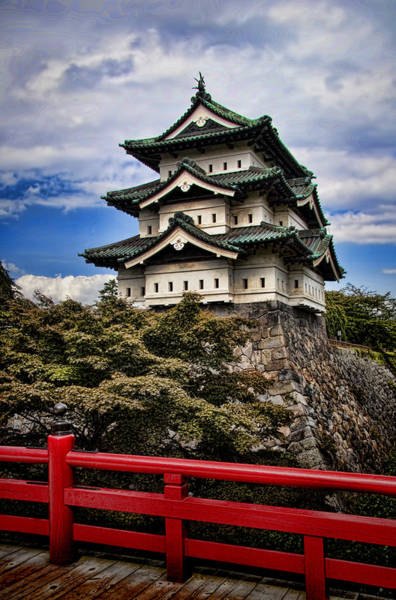 Pagoda Photograph - Hirosaki Castle In Japan by David Smith
