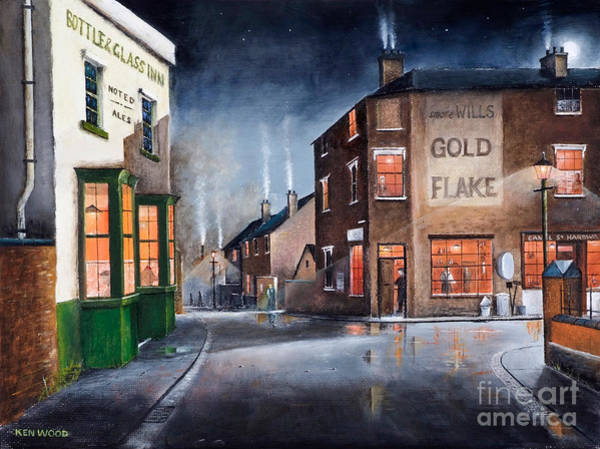 Black Country Village Centre Art Print