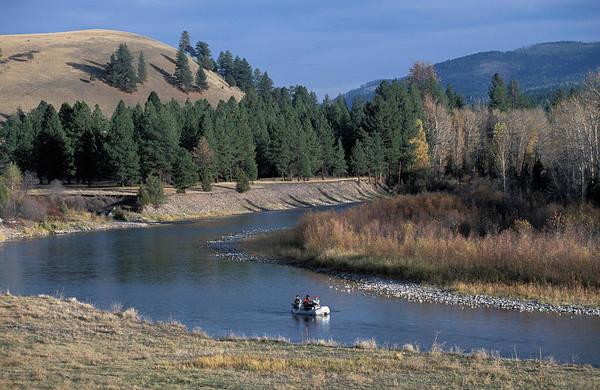 Angling Photograph - Blackfoot River Valley In Montana by Scott Warren