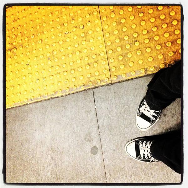 Photograph - Bleecker Street Subway by Natasha Marco